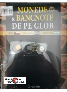 Monede Si Bancnote De Pe Glob Nr.103 - 10 Heleru, 1 Centavos, 1 centavo, Hachette