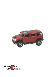 Macheta auto Hummer H2 visiniu, 1:72 Cararama