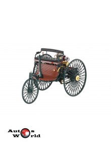Macheta auto Mercedes Benz Patent Motorwagen verde 1886, 1:18 Norev