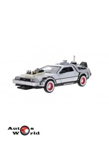 Macheta auto DeLorean Back to the Future III, 1:24 Welly