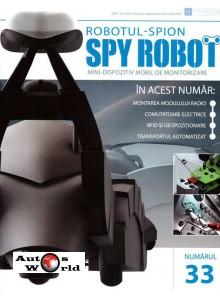 Colectia Spy Robot Nr 33 Kit de asamblat, Eaglemoss