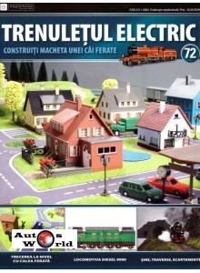 Colectia Trenuletul Electric Nr.72 diorama, Eaglemoss