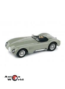Macheta auto Jaguar C Type Stradale 1953 Grigio, 1:43 Brumm