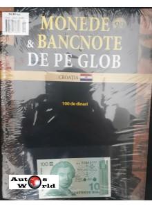 Monede Si Bancnote De Pe Glob Nr.99 - 100 de Dinari, Hachette