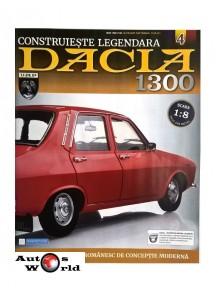 Macheta auto Dacia 1300 KIT Nr.4 - suspensie roata, scara 1:8 Eaglemoss
