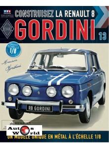 Macheta auto Renault 8 Gordini KIT Nr.13, scara 1:8 Eaglemoss