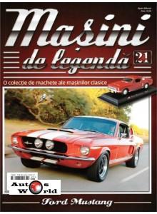 Masini De Legenda Nr.21 - Macheta auto Ford Mustang 1967, 1:43 Amercom