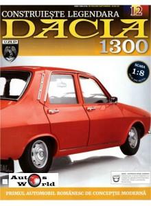 Macheta auto Dacia 1300 KIT Nr.12 - sasiu, scara 1:8 Eaglemoss