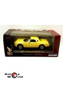 Ford Thunderbird 2000 galben, 1:43 Yatming