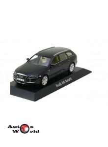 Macheta auto Audi A6 Avant 2004 negru, 1:43 Minichamps