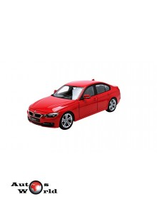 Macheta auto BMW 335i *Premium Collection* rosu 2010, 1:18 Welly