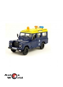 Land Rover 109/110 LWB Hong Kong police, 1:43 Deagostini/IST