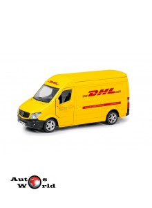 Macheta auto Mercedes Benz Sprinter DHL 5 inch, 1:32-36 RMZ City
