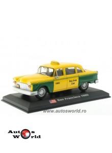 Checker - San Francisco 1980 Taxis, 1:43 Amercom