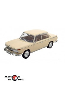Macheta auto BMW 2000 tilux (type 120) crem Sealed, 1:18 MCG