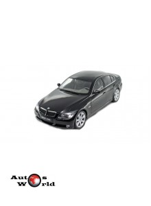 Macheta auto BMW 330i F30 negru 2006, 1:18 Welly