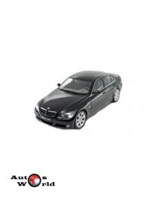 Macheta auto BMW 330i F30 negru 2006, 1:18 Welly