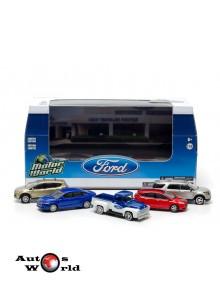 Ford Set 5 masini diorama Dealer, 1:64 Greenlight