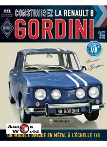 Macheta auto Renault 8 Gordini KIT Nr.15, scara 1:8 Eaglemoss