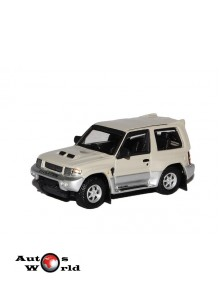Macheta auto Mitsubishi Pajero gri, 1:72 Cararama