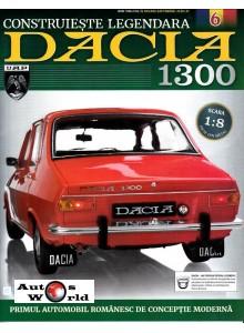 Macheta auto Dacia 1300 KIT Nr.6 - bloc motor, scara 1:8 Eaglemoss ...