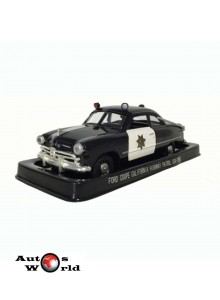 Masini de Politie nr23 - Macheta auto Ford Coupe California USA, 1:43 Amercom