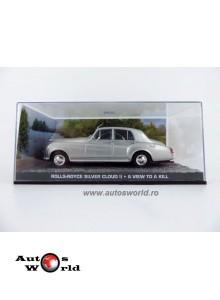Rolls Royce silver clowd II James Bond, 1:43 Eaglemoss