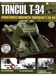 Colectia Tancul Т-34 Nr.79, 1:16 macheta kit de asamblat, Eaglemoss ...