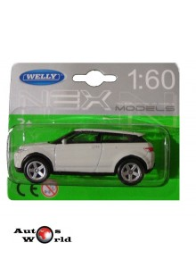 Macheta auto Land Rover Evoque, 1:60 Welly