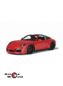 Macheta auto Porsche 911 (991) Targa GTS, 1:18 GT Spirit