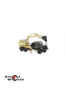 Macheta camion KrAZ 260 AO-4421A verde/crem, 1:43 Special Co