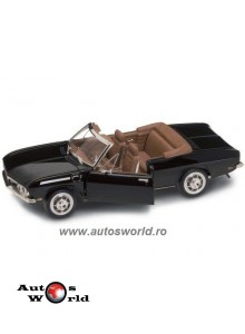 Chevrolet Corvair Monza Cabrio negru, 1:18 Yatming