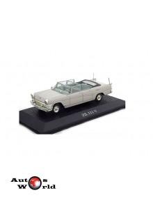Macheta auto ZIL 111-V Moscow *Leonid Brejnev* 1966, 1:43 Norev