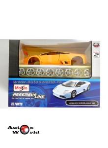 Lamborghini Murcielago LP640 - kit galben, 1:24 Maisto