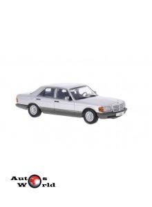 Macheta auto Mercedes Benz 500 SE (W126), 1979, 1:43 Whitebox