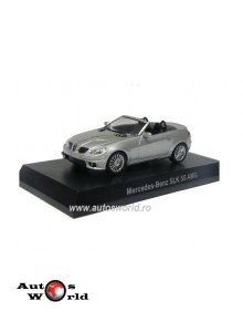 Mercedes Benz SLK 55 AMG gri, 1:64 Kyosho