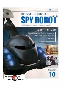 Colectia Spy Robot Nr 10 Kit de asamblat, Eaglemoss ...