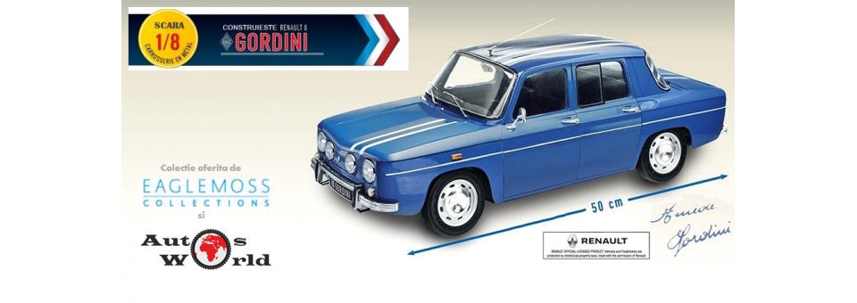 Abonament reviste colectie Renault 8 Gordini KIT eaglemoss 1 8