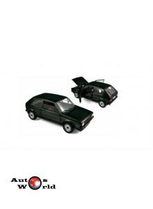 Macheta auto VOLKSWAGEN GOLF 1 GTI (1976) 1:18 negru Norev