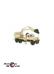 Macheta camion KrAZ 255B AO-4421 crem, 1:43 Special Co
