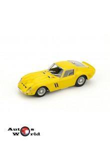 Macheta auto Ferrari 250 GTO 1962 galben, 1:43 Brumm