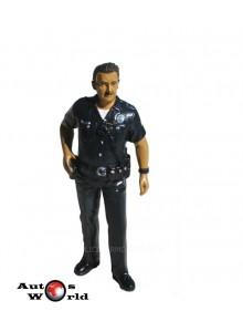 Figurina Politist US #1, 1:18 American Diorama