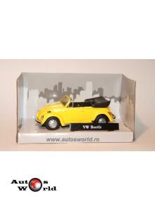 Volkswagen Beetle galben, 1:43 Hongwell - Rik Rok