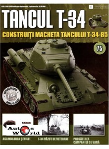 Colectia Tancul Т-34 Nr.75, 1:16 macheta kit de asamblat, Eaglemoss