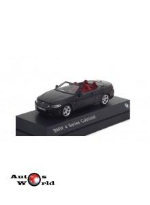 Macheta auto BMW 4 Series Cabriolet (F33) 2013 negru, 1:43 Paragon