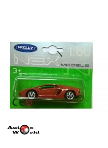 Macheta auto Lamborghini Aventador, 1:60 Welly