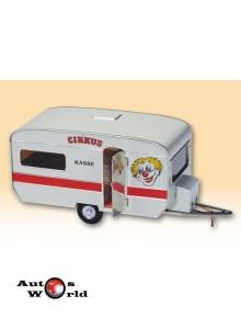 Rulota - caravan circ, 1:43 Kovap