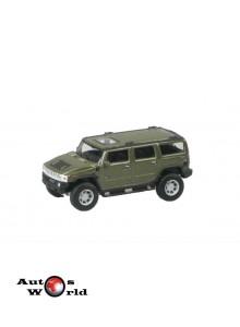 Macheta auto Hummer H2 verde, 1:72 Cararama