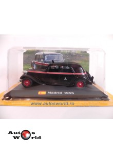 Citroen Traction Avant 11 Madrid - Taxi, 1:43 Amercom Srb
