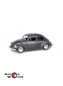 Macheta auto Volkswagen Beetle 1967 negru mat 5 inch, 1:32-36 RMZ City